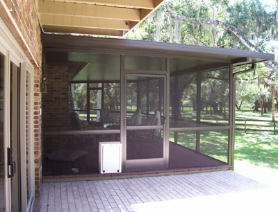 custom pool enclosure hexagon shape. Screen Existing Patio With Custom Doors. Pool Enclosure Hexagon Shape